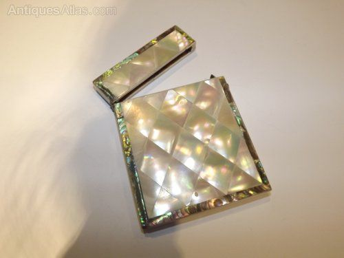 Antiques Atlas - Beautiful Mother Of Pearl And Abolone Visiting Ca