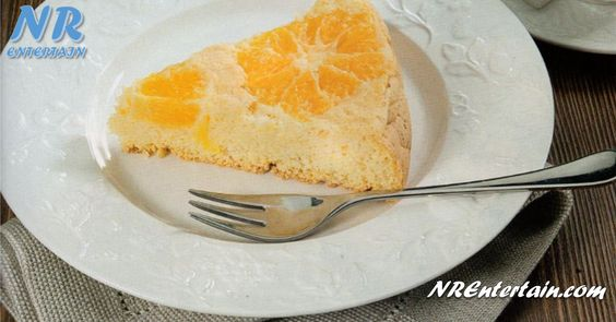 Receita da Sobremesa Light Pão-de-Ló de Laranja