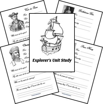 Worksheet Early Explorers Worksheets homeschool explorers unit and timeline on pinterest