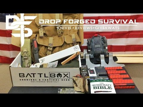 Battlbox Mission 22 - Awesome Box - Massive Gear Update - EDC - Bugout -...