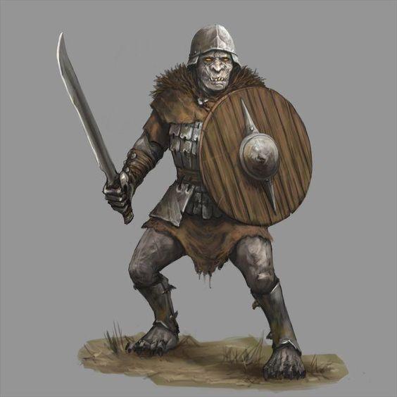 Dungeons & Dragons: Orcs & Half-orcs (inspirational) - Album on Imgur