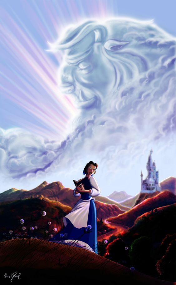 Beauty and the Beast - Tale as old as time by DarrilAsylum.deviantart.com