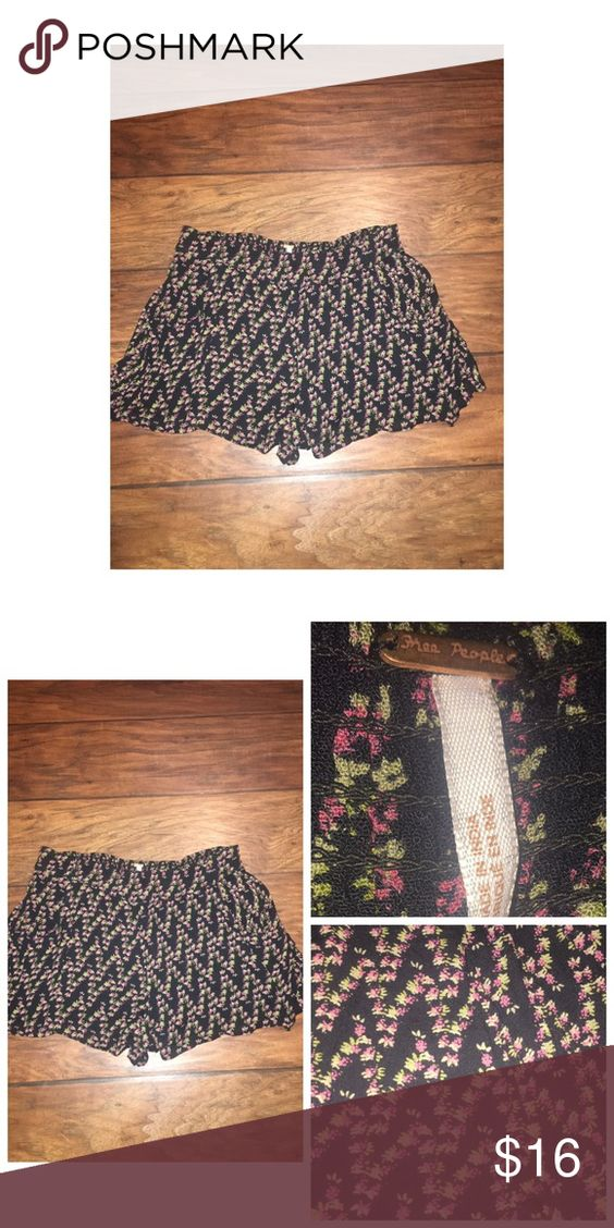 "Free People Cotton Shorts Pre•loved Free People Cotton Shorts • Size Small • Made of 100% Rayon • Length measures approx 3"" • Elastic waist • Side pockets • Loose fitting • Excellent condition Free People Shorts"