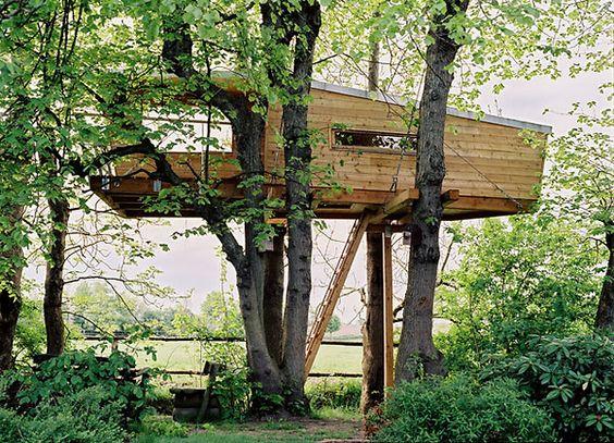 Baumraum | Baumhaus Wencke | Treehouses | Pinterest | Liebe ... Das Magische Baumhaus Von Baumraum