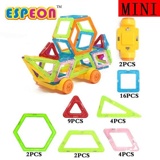 $11.35 (Buy here: https://alitems.com/g/1e8d114494ebda23ff8b16525dc3e8/?i=5&ulp=https%3A%2F%2Fwww.aliexpress.com%2Fitem%2FMini-Magnetic-Designer-Educational-Building-Blocks-39pcs-Set-Engineering-Vehicle-Plastic-Assemble-Enlighten-Bricks-For-Kids%2F32779356436.html ) Mini Magnetic Designer Educational Building Blocks 39pcs/Set Engineering Vehicle Plastic Assemble Enlighten Bricks For Kids Gift for just $11.35