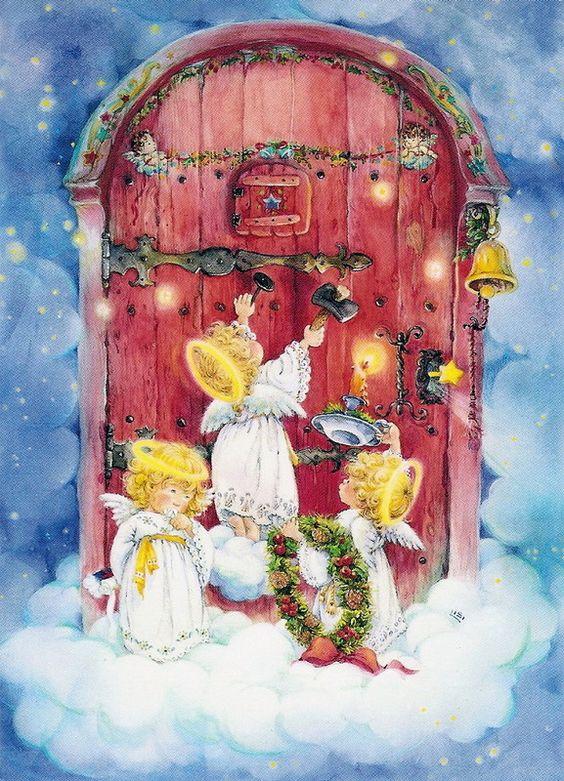 Christmas Angels Lisi Martin: