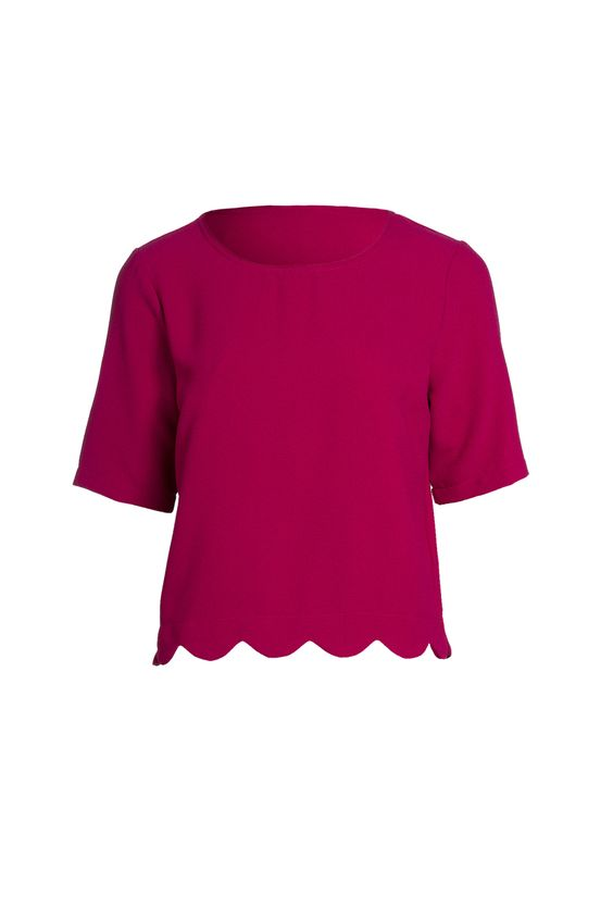 Buy New Look Scallop Hem Shell Top | Shop Womenswear at the BrandStore EziBuy AU