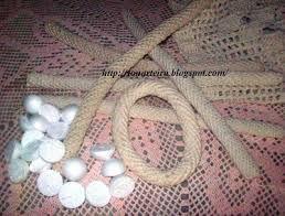 Resultado de imagem para passo a passo de caminho cacho de uva em croche