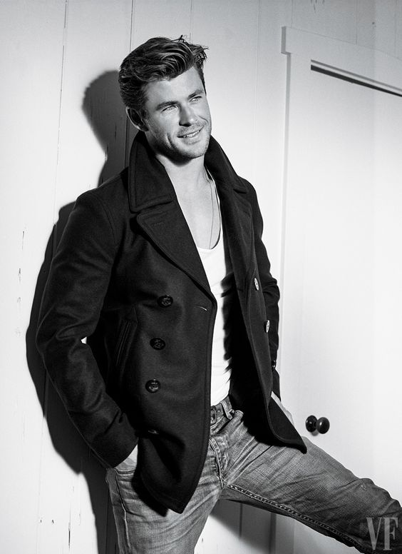 At a mere 32, Chris Hemsworth has checked all the movie-star boxes. Photograph by Bruce Weber.: