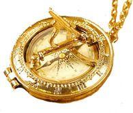 Vintage Sundial Pendant  http://www.alopescloset.com/jewelry/