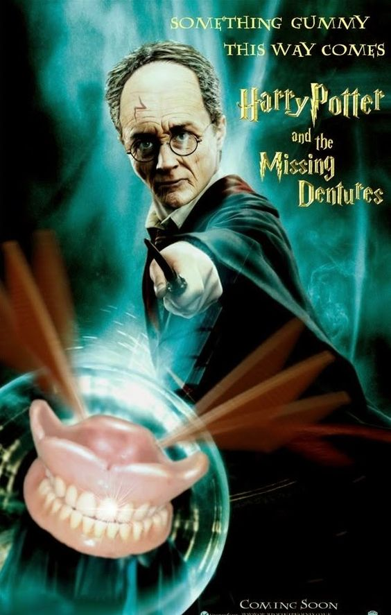 Harry Potter y las dentaduras perdidas.