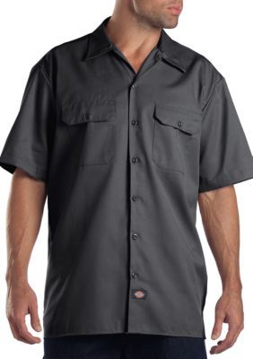 Dickies  SS WORK SHIRT CHARCO