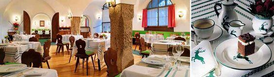 Menu at Restaurant Goldener Hirsch in Salzburg