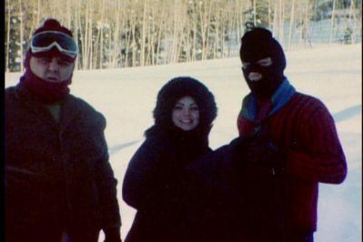 Elvis (Ski Mask) on Vacation in Colorado 1970
