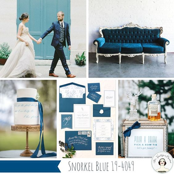 Top 10 Spring Wedding Colours for 2016 from Pantone