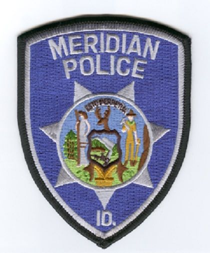 Meridian Pd Id 2 Police Patches Police Badge Police