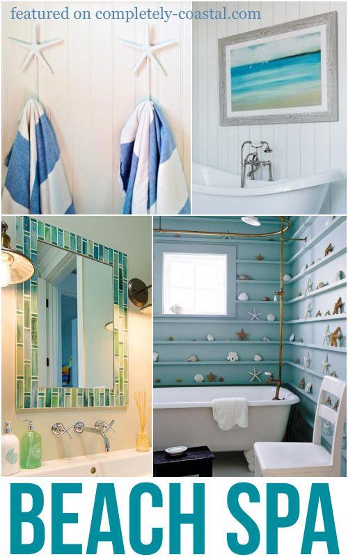 Coastal Beach Spa Bathroom Ideas Coastal Bathroom Decor Bathroom Design Decor Coastal Living Design