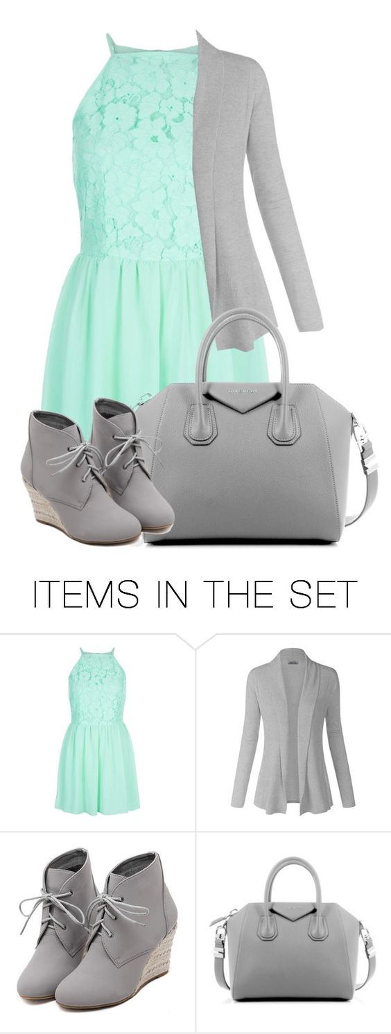 """A teal Dress//Outfit"" by cali16 ❤ liked on Polyvore featuring art"