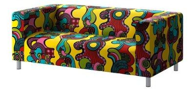 Retro Klippan Sofa Cover from Ikea