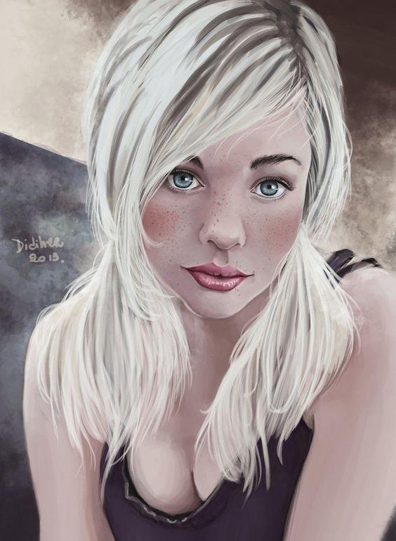 Devon-Jade portrait by Didiher on DeviantArt