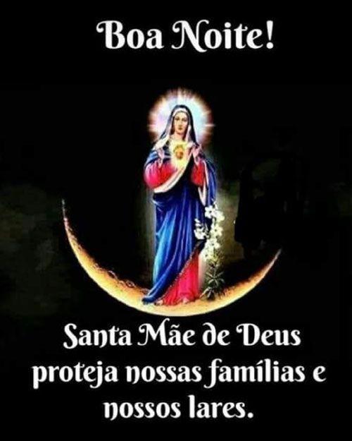 Santa Mae De Deus Proteja Nossas Familias Mundo Mensagens Em