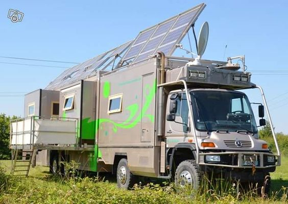Unimog 4x4 by mercedes benz expedition camper rv rig for Mercedes benz recreational vehicles