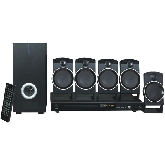 Naxa 5.1-channel Dvd & Karaoke Entertainment System