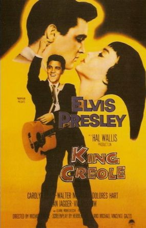 King Creole    Elvis Movie #4  Paramount | 1958. One of the best movies.  You could say it's COO'