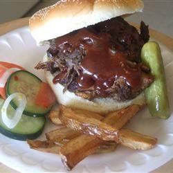 Busy Day Barbeque Brisket Allrecipes.com