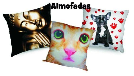 Almofadas personalizadas, escolha seu tema ou imagem!
