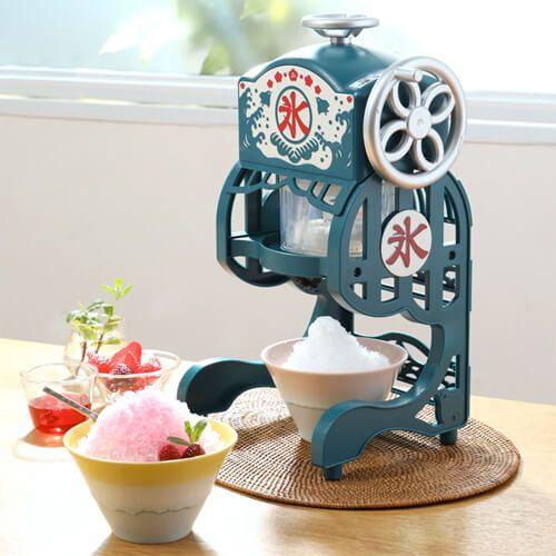 2019年版 おしゃれなデザインのおすすめかき氷機 かき氷器9選 電動から手動まで Design Magazine かき氷機 かき氷 かき氷 デザイン