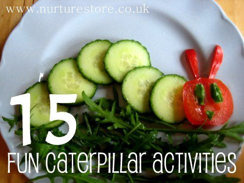 Love these caterpillar activities - packed full of ideas for a whole unit: art, food, math, literacy, games