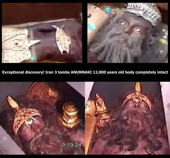 Exceptional discovery: the body of King Anunnaki for 12,000 years completely intact FIND human giants in suspended animation 12000 YEARS This discovery is done completely by chance in the spring of 2008, and if we know happened is no doubt thanks to...
