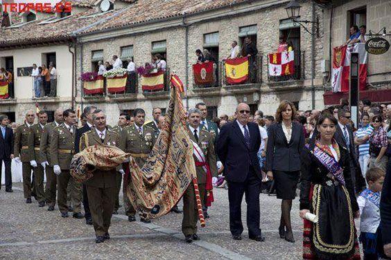 الاحتفاظ ببيرق العقاب في اسبانيا