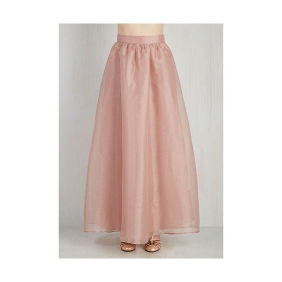 A Line Skirt Long