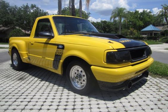 Joe S 1994 Ford Boss 302 Ranger Is Bad To The Bone Ford Ranger