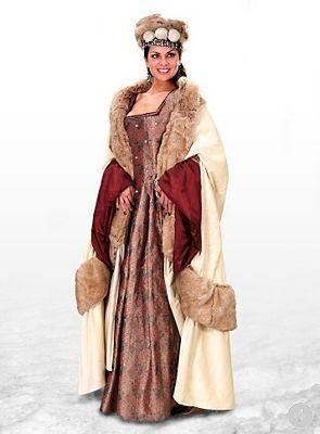 """Wintermantel """"Königin von England"""" - maskworld.com"""