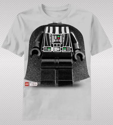 NEW Lego Star Wars Darth Vader Suit Costume Logo Classic Movie Youth T-shirt top #LegoStarWars #GraphicTee