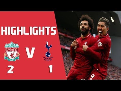 Liverpool Vs Tottenham 2 1 Full Match Highlight And Stats Dopearena Soccer Highlights Match Highlights Liverpool