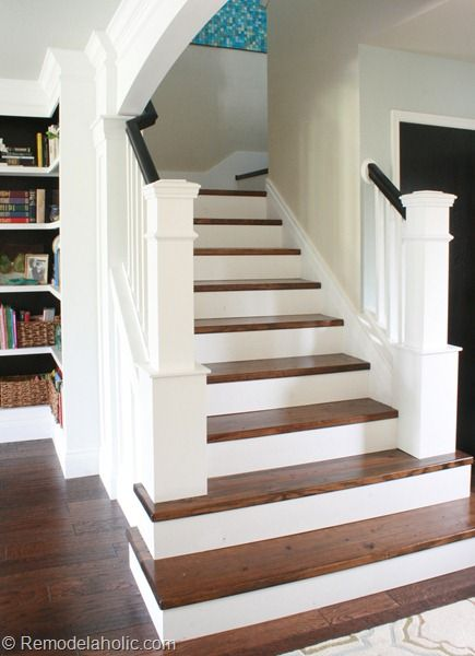 Best Beautiful Hardwood Stairs And Removing Carpet On Pinterest 400 x 300