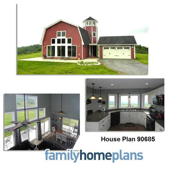 home plans barn style homes and gambrel on pinterest