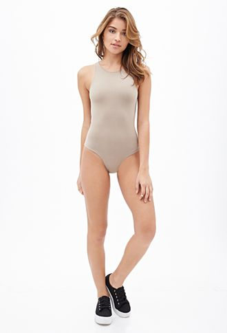 ✖️High-Neck Bodysuit | FOREVER 21 - 2000064068
