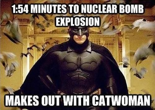 Way to waste time, Bats.