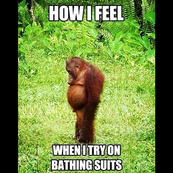 Forreal though. Lol. #bikiniproblems