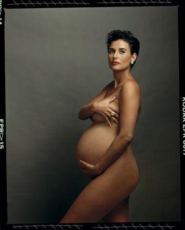 Como Annie Leibovitz fotografió a Demi Moore embarazada y desnuda // How Annie Leibovitz photographed Demi Moore pregnant and nude (1991)