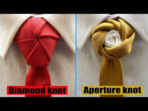 8 Best Tie Knots For Wedding And Festive Events How To Tie A Necktie Youtube In 2020 Cool Tie Knots Tie Knots Men Tie Knots