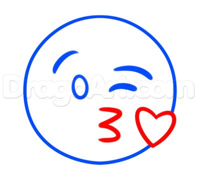 how to make kiss emoji
