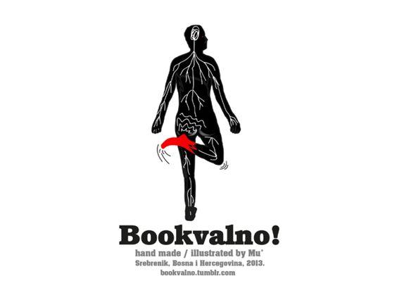 Bookvalno! (Handcrafted Notebooks) Updated by Muris Halilović, via Behance
