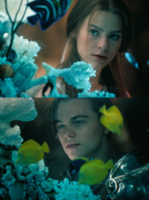 I loved the images from Romeo + Juliet. Takes me right back to being 18 again!