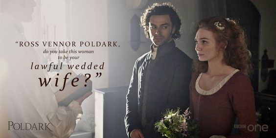 Ross and Demelza Poldark: